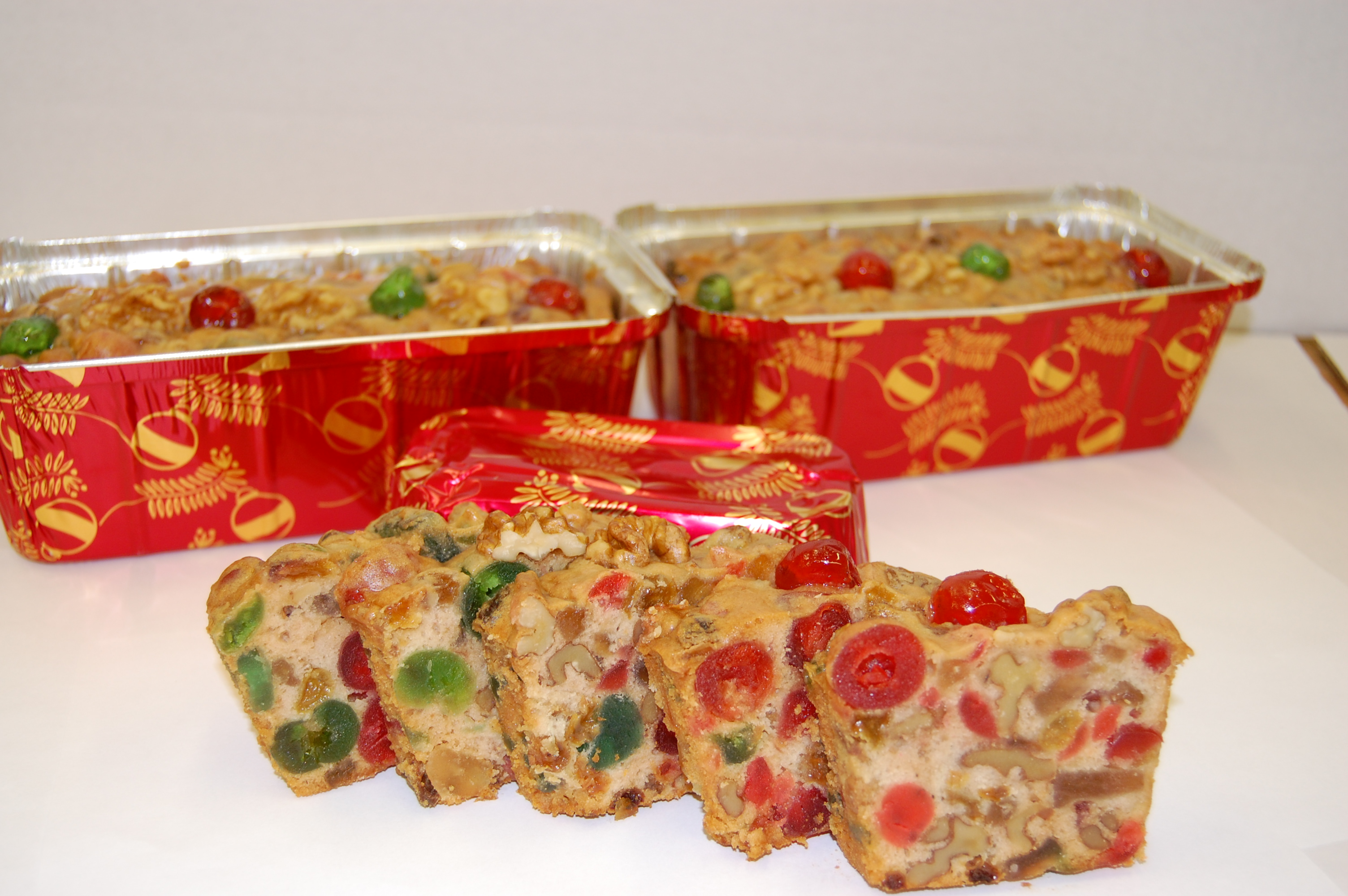 Light Fruit Cake Recipe Joy Of Baking: Christmas- Fleckenstein's Bakery Mokena, Illinois