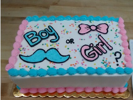 Gender Reveals Planning A Reveal Party Let Fleckensteins Create Pink Or Blue Cake For You We Can Even Keep It Secret