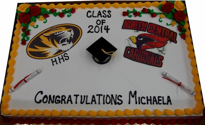 Graduation Grad Cap Fleckenstein S Bakery Mokena Illinois