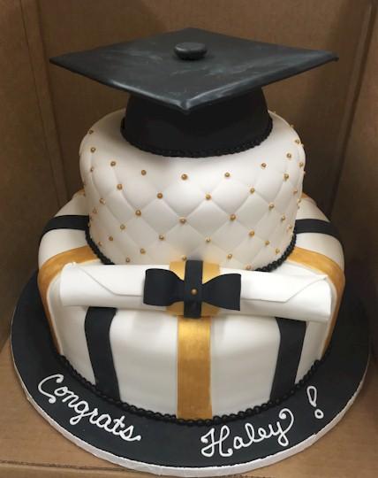 Graduation- Grad- Cap- Fleckenstein's Bakery Mokena, Illinois