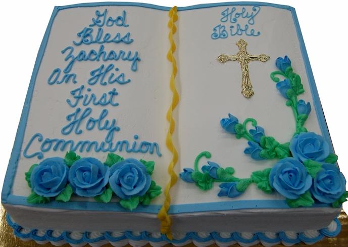 Religious Cakes Baptism Christening Communion Confirmation