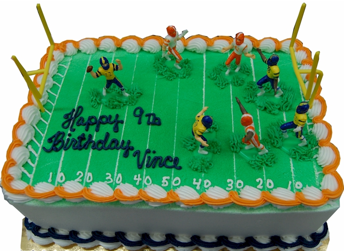 Birthday Sports Fleckensteins Bakery Mokena Illinois Serving