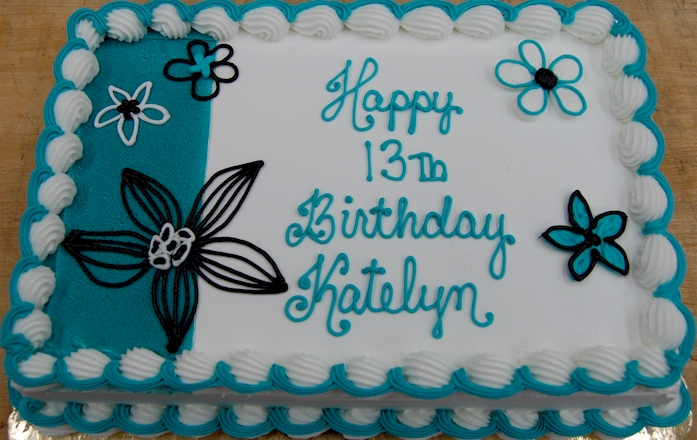 Birthday Teen Fleckensteins Bakery Mokena Illinois